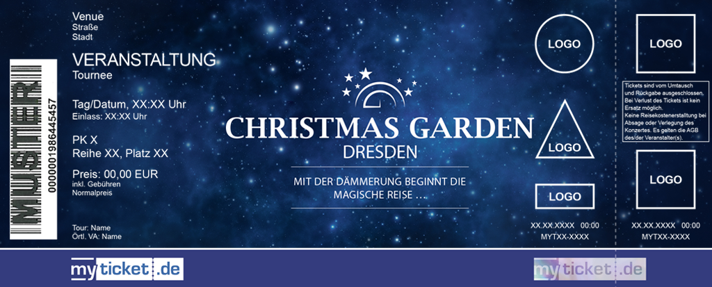 Christmas Garden Dresden Colorticket