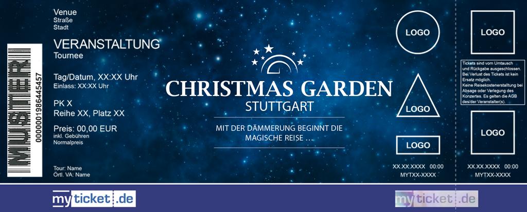 Christmas Garden Stuttgart Colorticket