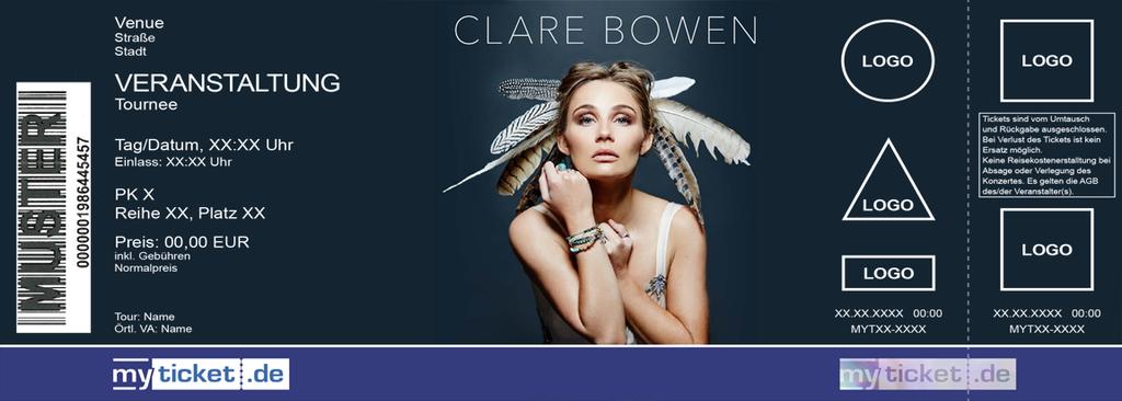 Clare Bowen Colorticket