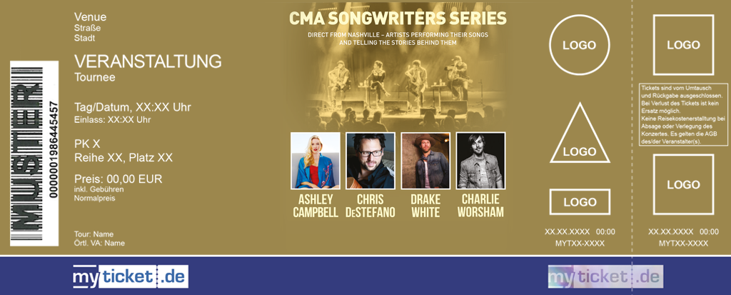 CMA Songwriters Series Colorticket