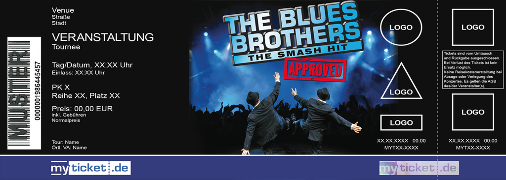 The Blues Brothers Colorticket