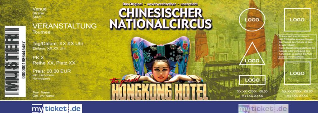 Chinesischer Nationalcircus Colorticket