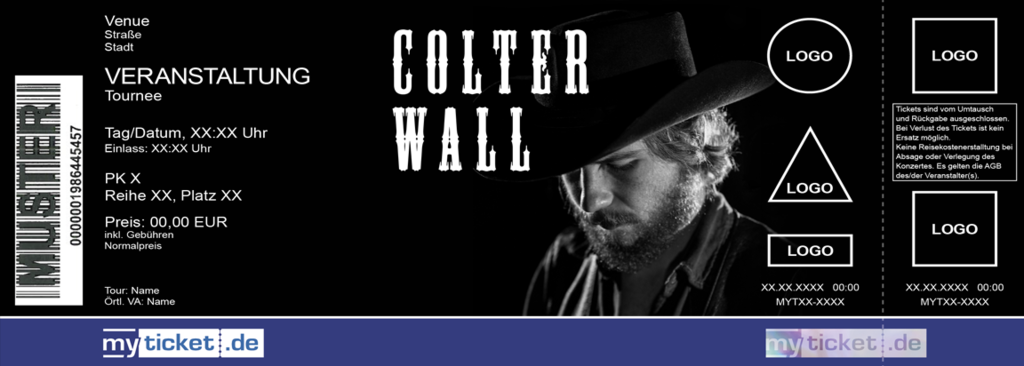 Colter Wall Colorticket