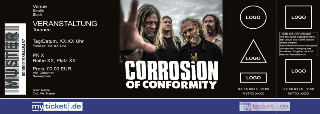 Corrosion of Conformity Colorticket