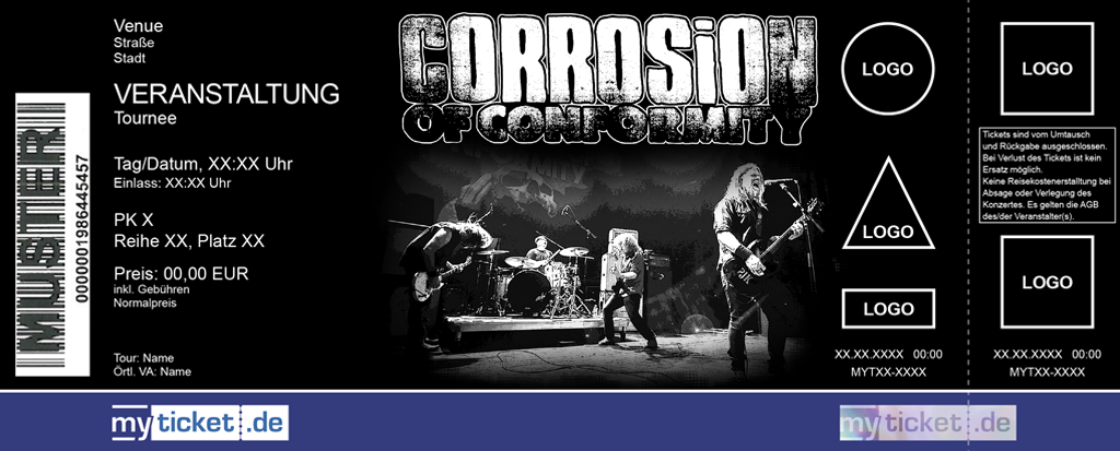 Corrosion of Conformity Colorticket