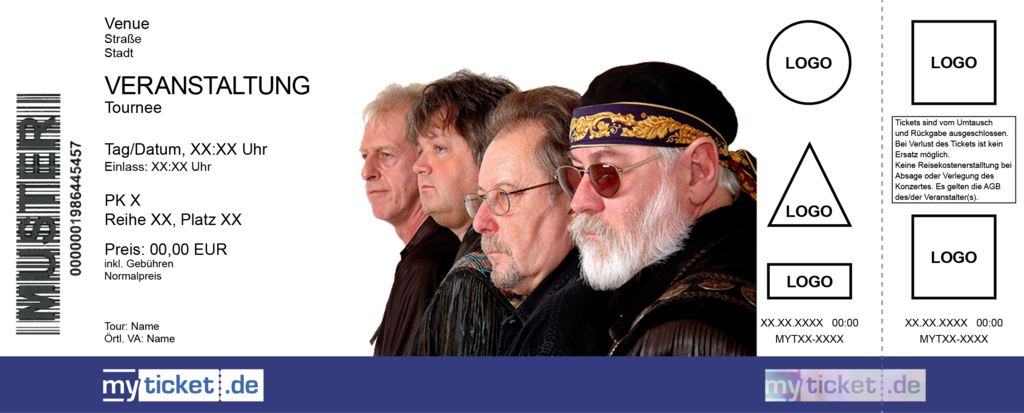 Creedence Clearwater Revived Colorticket