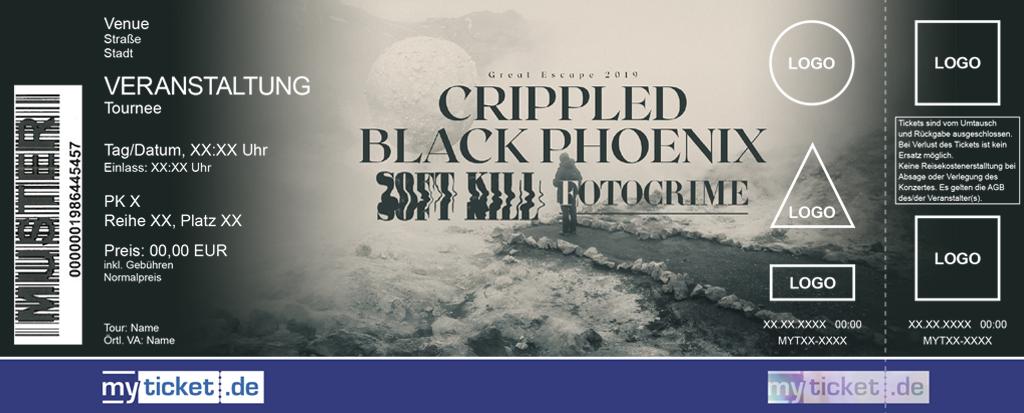 Crippled Black Phoenix Colorticket