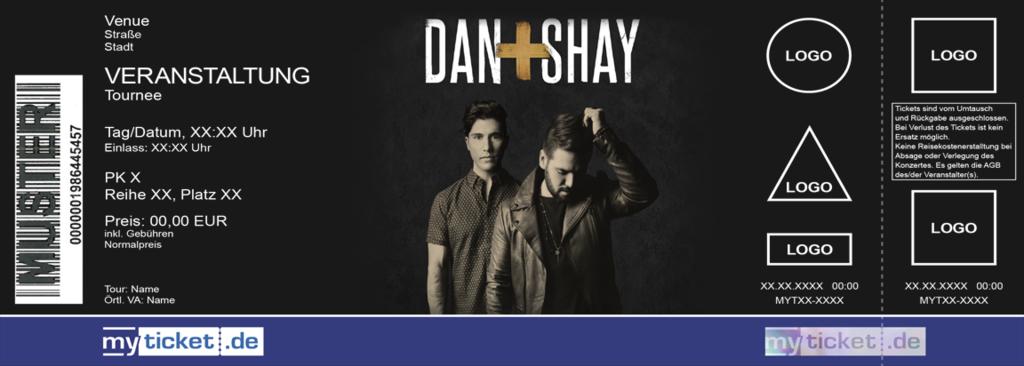 DAN + SHAY Colorticket