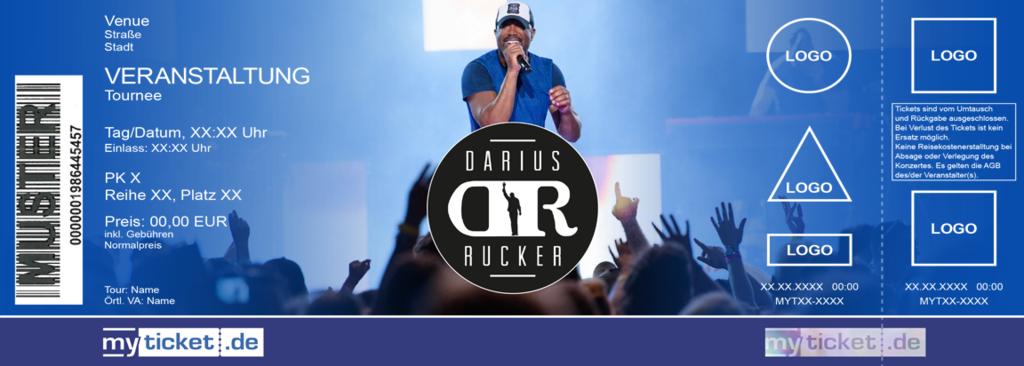 Darius Rucker Colorticket