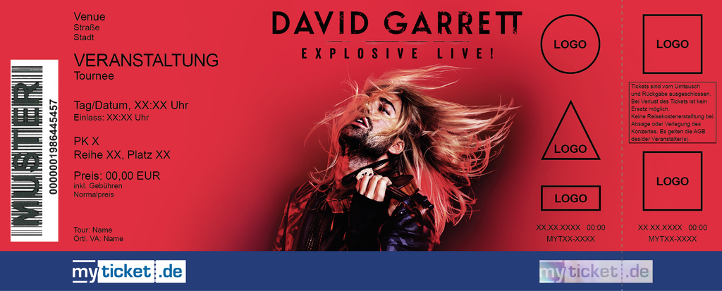 David Garrett Colorticket