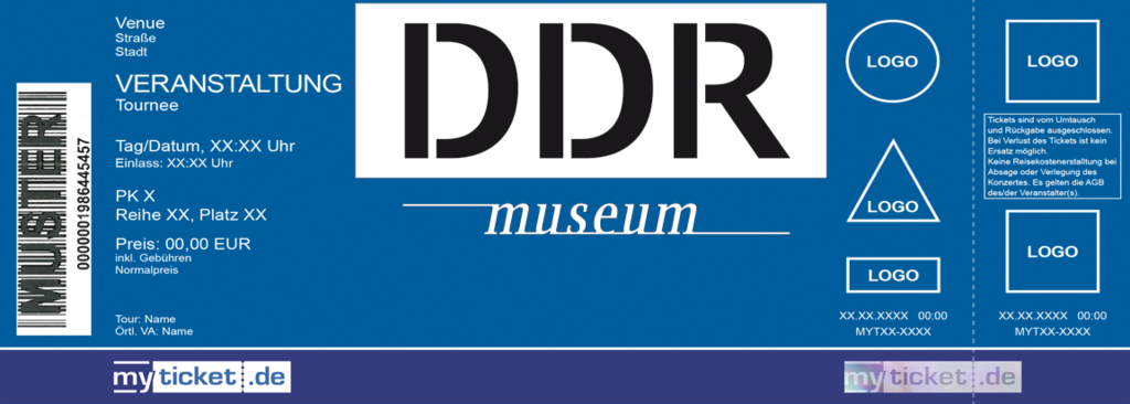 DDR Museum Colorticket