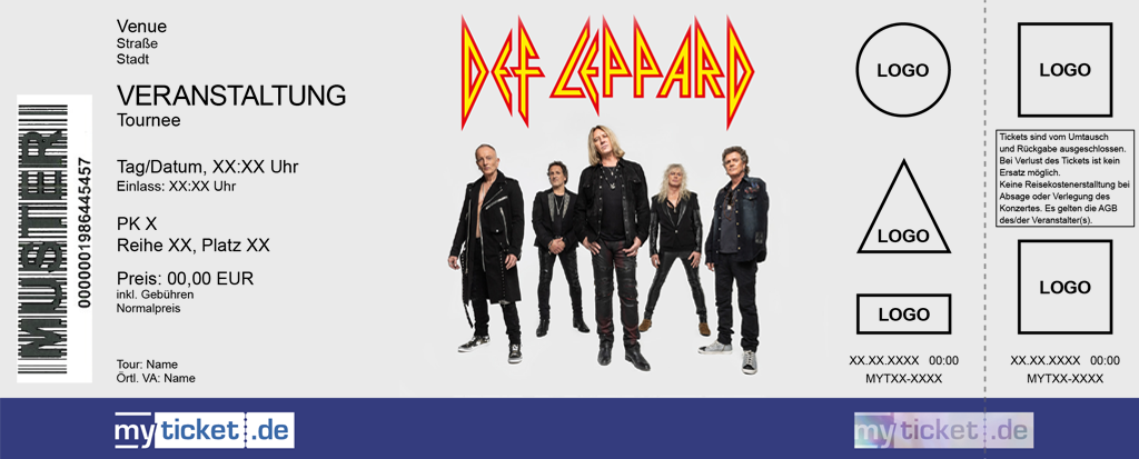 Def Leppard Colorticket