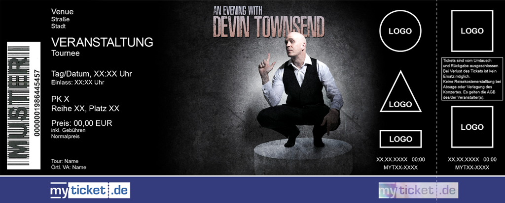 Devin Townsend Colorticket