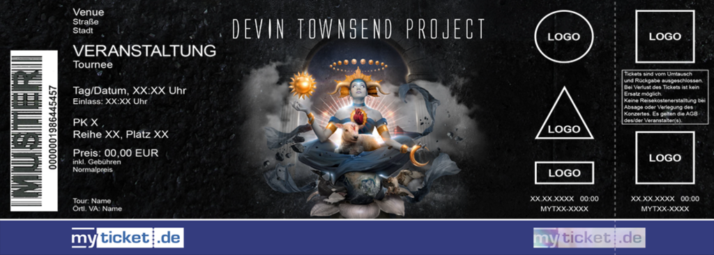 Devin Townsend Project Colorticket