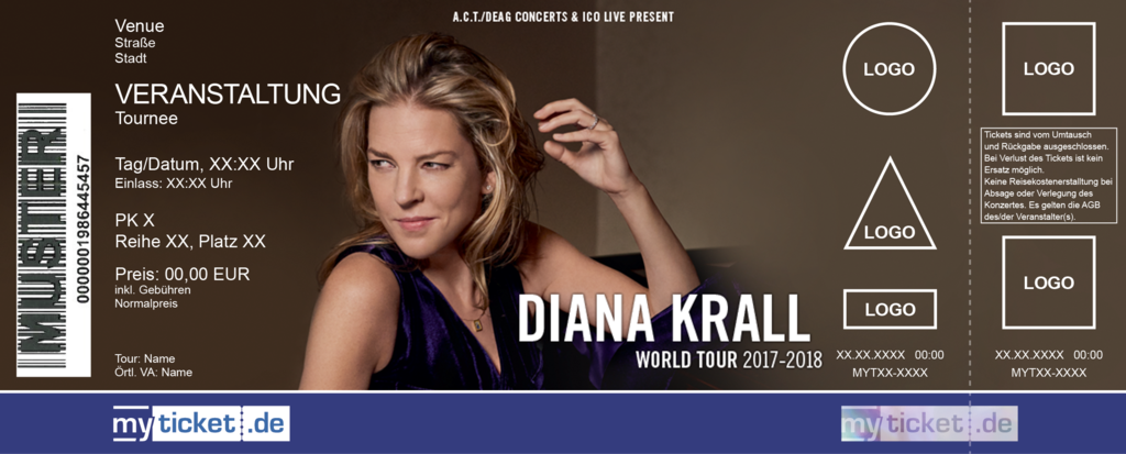 Diana Krall Colorticket