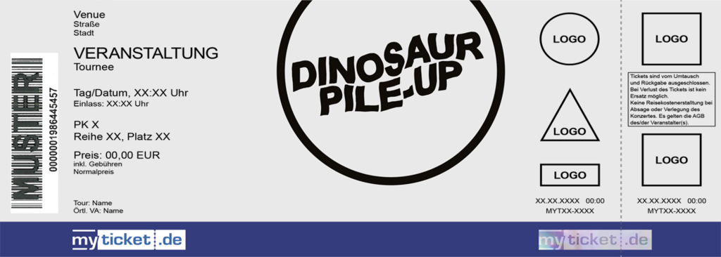 Dinosaur Pile-Up Colorticket