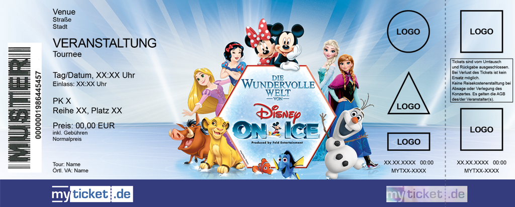 Disney On Ice Colorticket