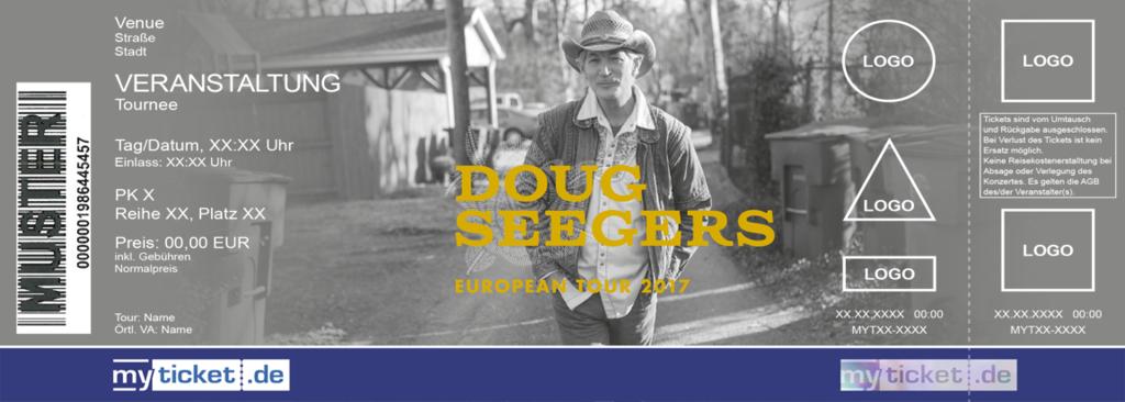 Doug Seegers Colorticket