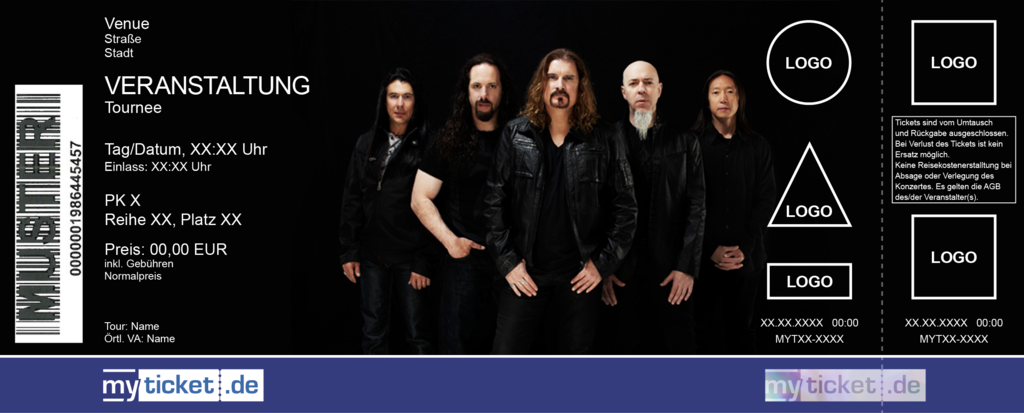 Dream Theater Colorticket