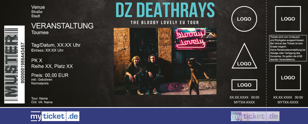 DZ Deathrays Colorticket