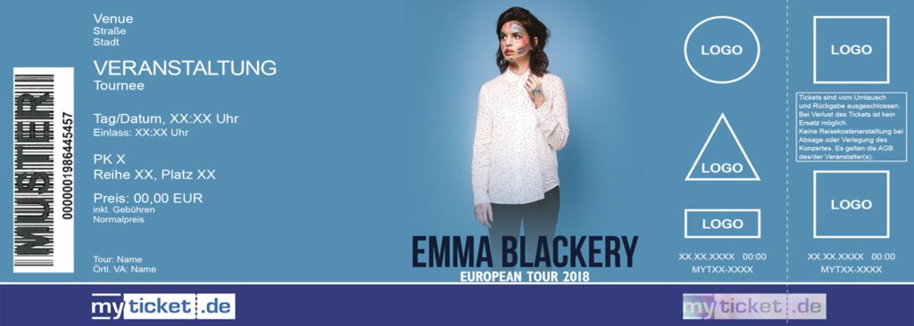 Emma Blackery  Colorticket