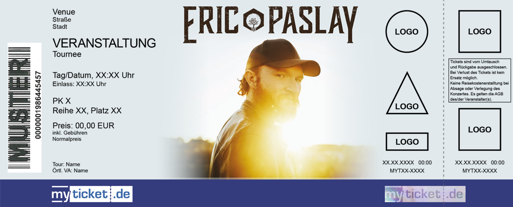 Eric Paslay Colorticket
