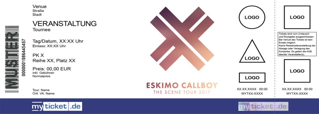 Eskimo Callboy Colorticket