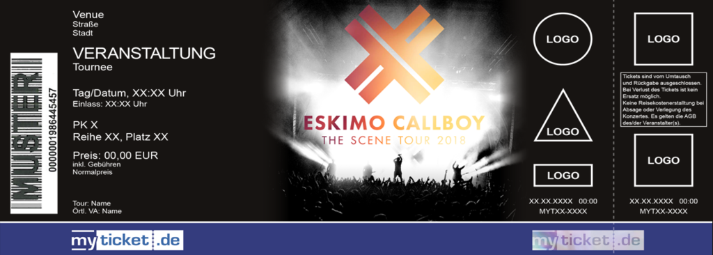 Eskimo Callboy Colorticket