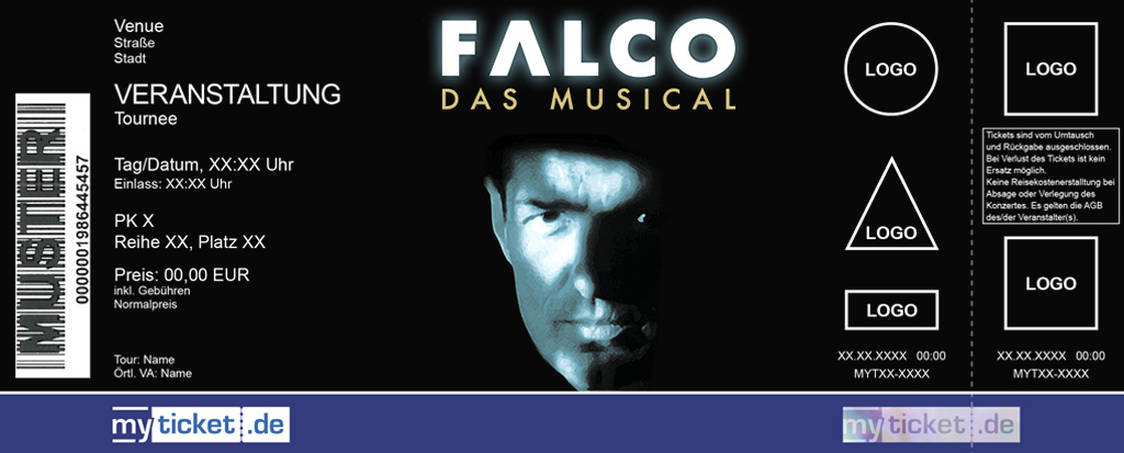 Falco - Das Musical Colorticket