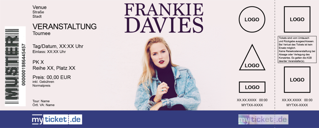 Frankie Davies Colorticket