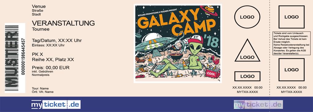 Galaxy Camp Colorticket