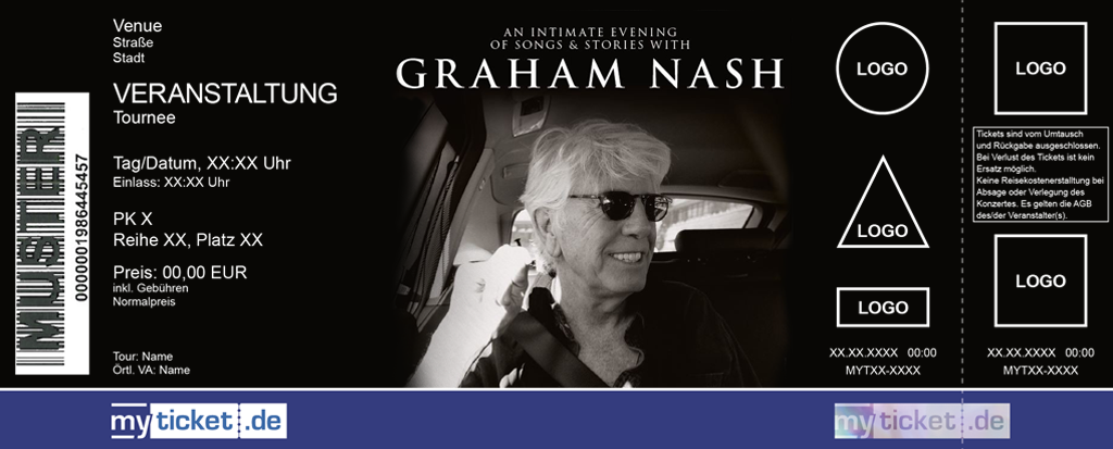 Graham Nash Colorticket