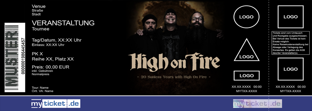 High On Fire Colorticket
