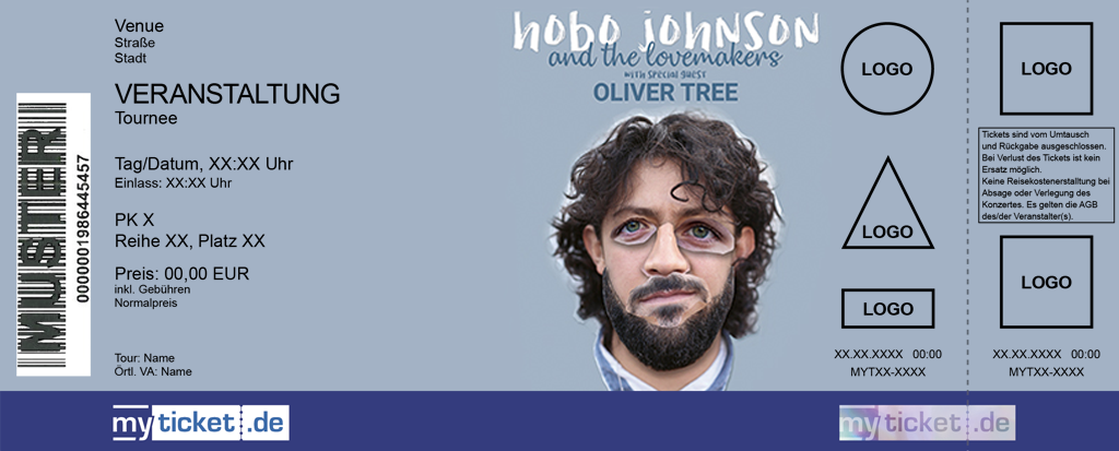 Hobo Johnson & The Lovemakers Colorticket