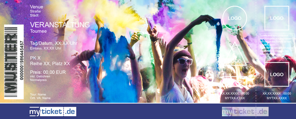 Holi Festival Of Colours Colorticket