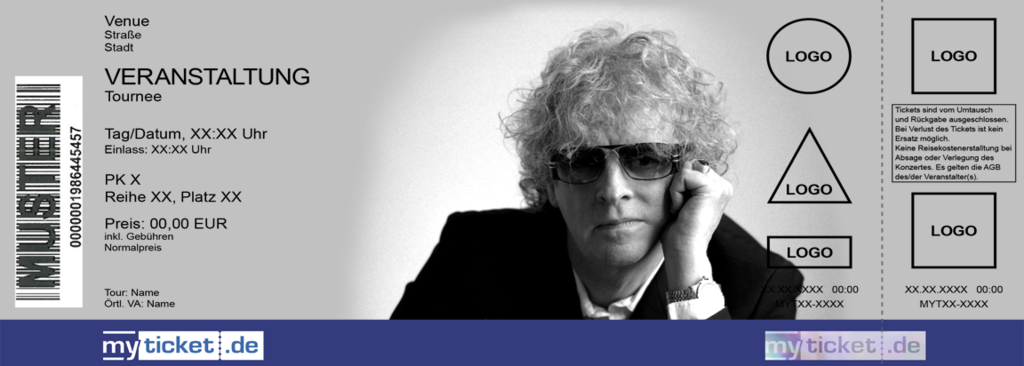 Ian Hunter & The Rant Band Colorticket