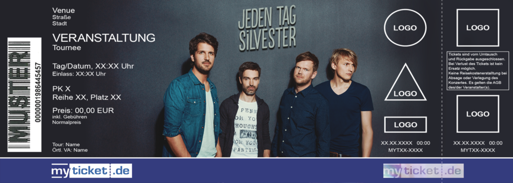 Jeden Tag Silvester Colorticket