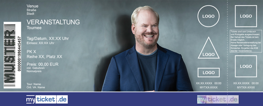 Jim Gaffigan Colorticket