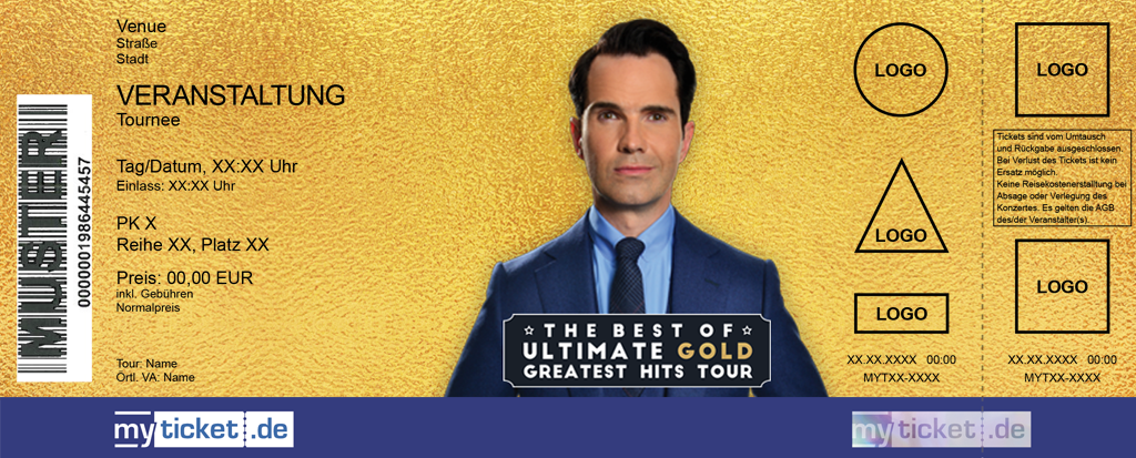 Jimmy Carr Colorticket