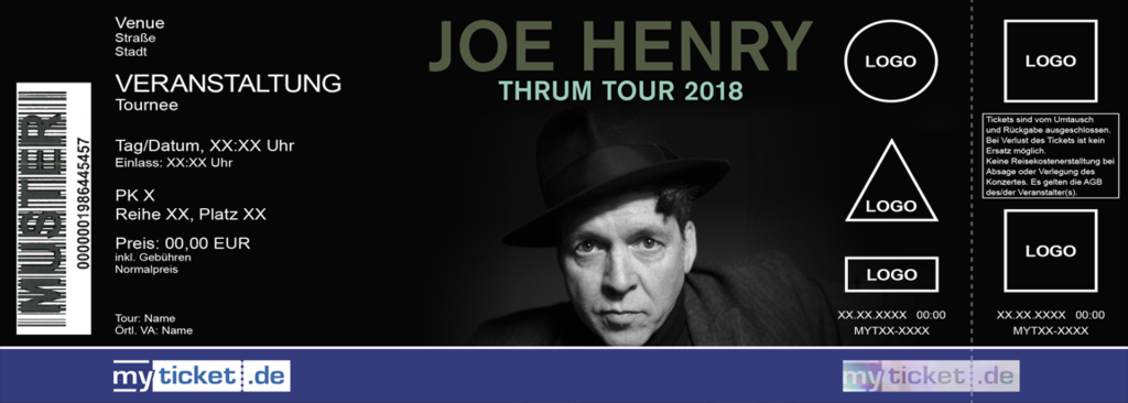 Joe Henry Colorticket