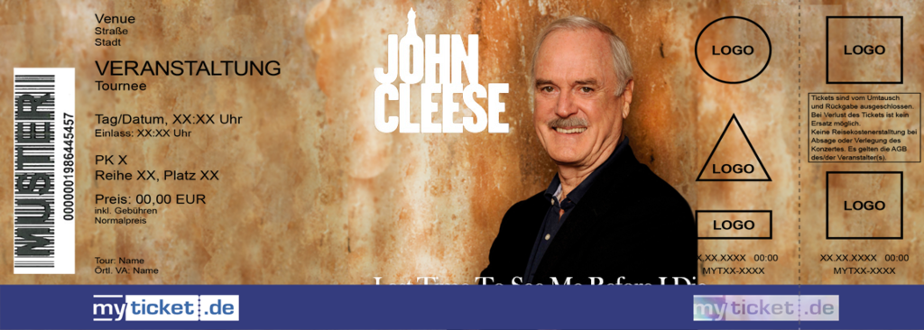 John Cleese Colorticket