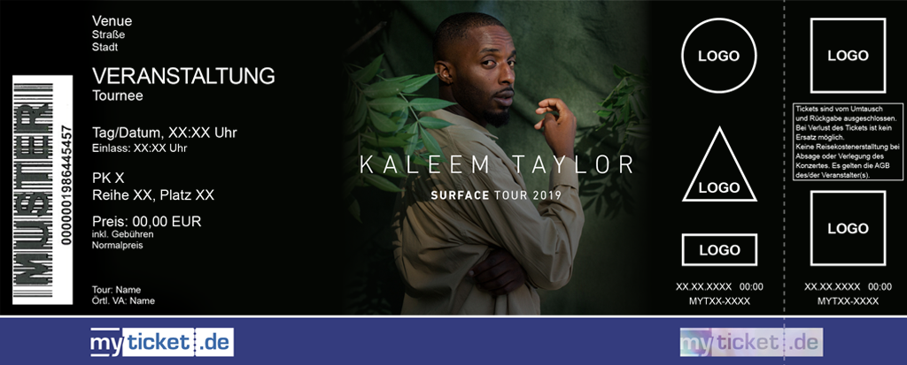 Kaleem Taylor Colorticket