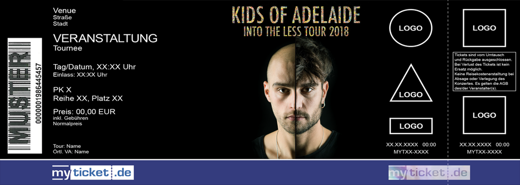 Kids of Adelaide Colorticket