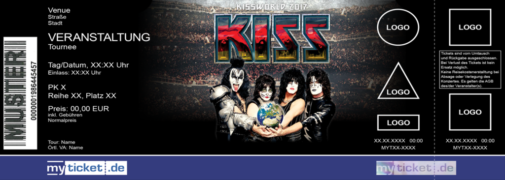 KISS Colorticket