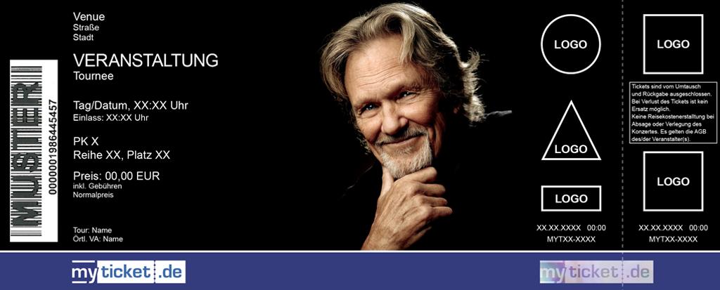 Kris Kristofferson & The Strangers Colorticket