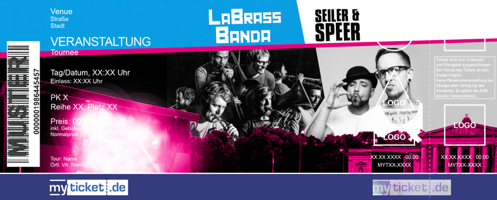 LaBrassBanda + Seiler & Speer Colorticket