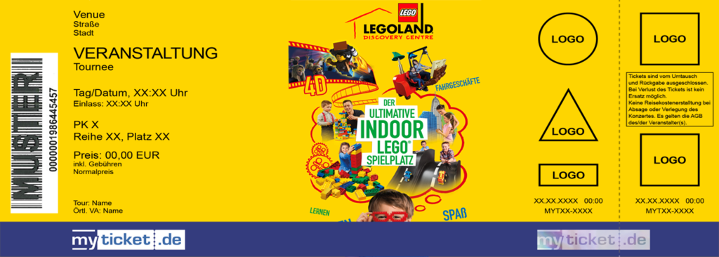 LEGOLAND Discovery Centre Colorticket