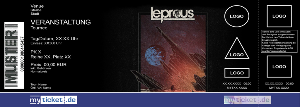 LEPROUS & AGENT FRESCO Colorticket