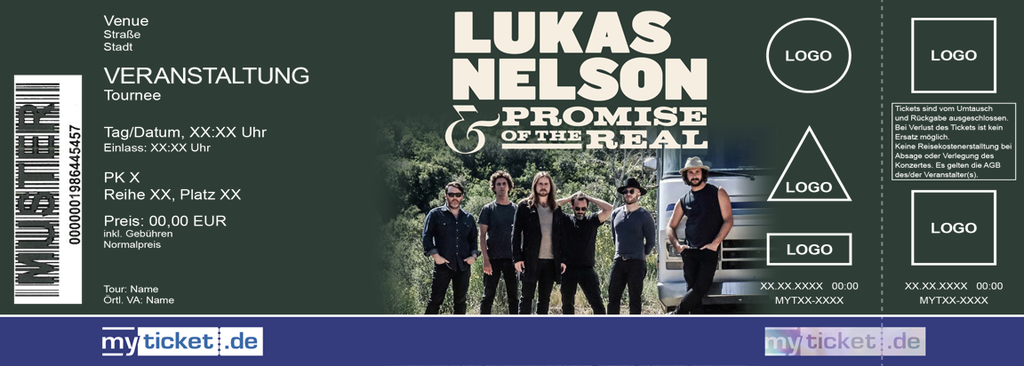 LUKAS NELSON & PROMISE OF THE REAL Colorticket