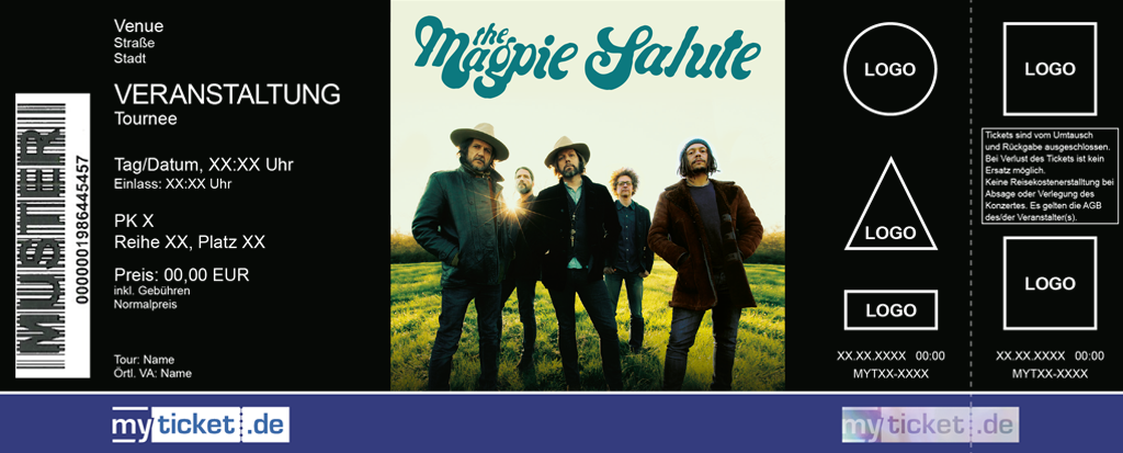 The Magpie Salute Colorticket